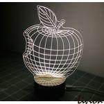 3D светильник Яблоко