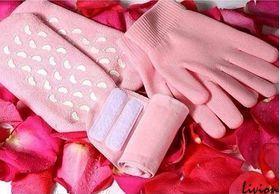 Набор гелевые перчатки носочки воротник Gel Spa