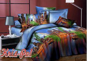 Полиэстер 3D Ночной город