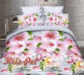 3D Розовые цветы