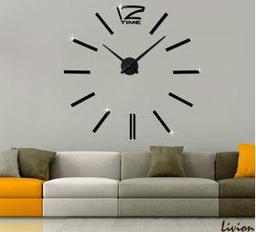 Оригинальные настенные часыWoow black