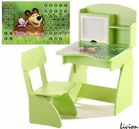 Детская Парта растущая + стульчик, Маша