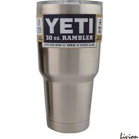 Термокружка, дорожная чашка YETI Rambler Tumbler 30 OZ Сталь
