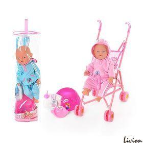 Кукла  Baby Born с коляской
