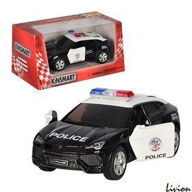 Металлическая машинка Полиция Кинсмарт (KT 5368 WP)