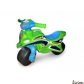 Мотоцикл музыкальный Мотобайк Полиция салатовый (0139/52)