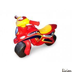 Мотоцикл музыкальный Мотобайк Полиция красный