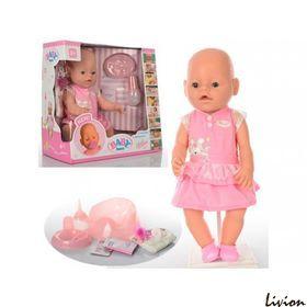 """Пупс """"Baby Born"""" розовое платье (BB 8009-439)"""
