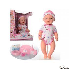 "Пупс ""Baby Born"" в розовом боди"