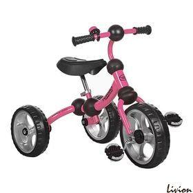 Трехколесный велосипед Turbo Trike Розовый (M 3192-3)
