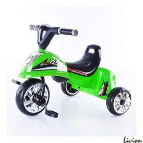 Велосипед детский трёхколесный Bambi EVA Foam зеленый (М 5345)