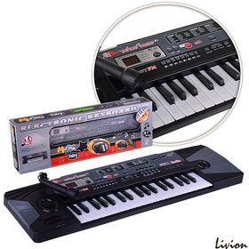 Орган синтезатор с микрофоном MQ-007FM 37 клавиш