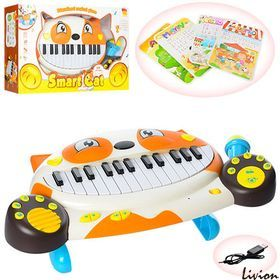 Пианино синтезатор с микрофоном Smart Cat 8710D