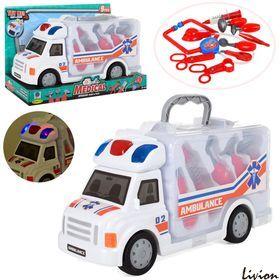 Машинка скорая помощь с аптечкой A-Toys 661-172