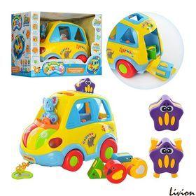 "Машинка-сортер ""Автошка"" Joy Toy (9198)"