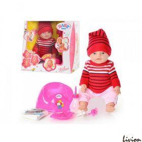 """Кукла пупс  """"Baby Born"""" в красном костюмчике (BB 8001 G-S)"""