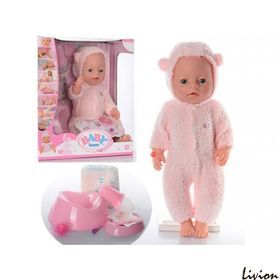 """Пупс """"Baby Born"""" в розовом комбинезоне (BL012A-S)"""