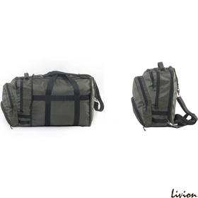 Рюкзак-сумка Трансформер Kodor olive зеленая 078