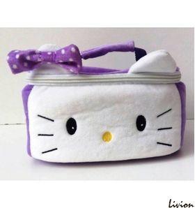 """Ланчбокс детский """"Hello Kitty""""  фиолетовый"""