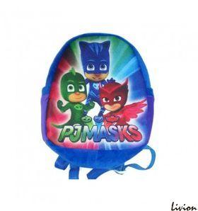 Рюкзак детский плюшевый Герои в масках