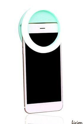 Светодиодное кольцо для селфи Ring light салатовое