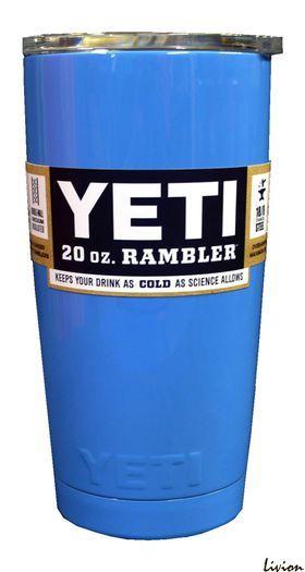 Термокружка, дорожная чашка YETI Rambler Tumbler 20 OZ Синий