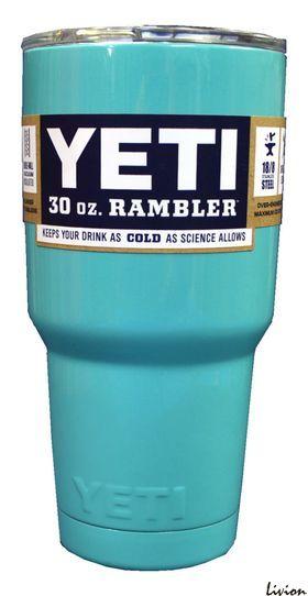 Термокружка, дорожная чашка YETI Rambler Tumbler 30 OZ Голубой