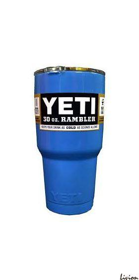Термокружка, дорожная чашка YETI Rambler Tumbler 30 OZ Синий